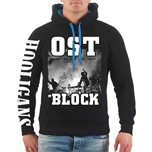 Spaß kostet Männer und Herren Kapuzenpullover OST Block Härter als der Rest Größe S - 8XL