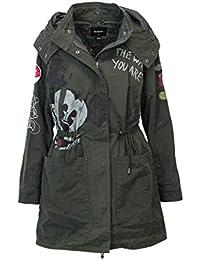 Amazon.it  desigual - Giacche e cappotti   Donna  Abbigliamento e71c5d88798
