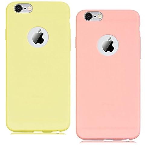 [2 pièces] Coque iPhone 6 Plus (5.5