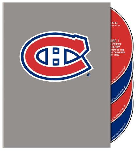 Preisvergleich Produktbild Montreal Canadiens 100th Anniversary Collector's Set NHL DVD Box (4 DVDs)