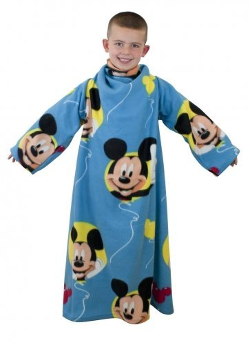 Disney Mickey Mouse Club House Official Snuggle Sleeved Fleece Blanket