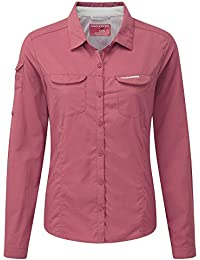 3a52dbdac8f Craghoppers NosiLife Womens/Ladies Adventure Long Sleeved Insect Repellent  Shirt