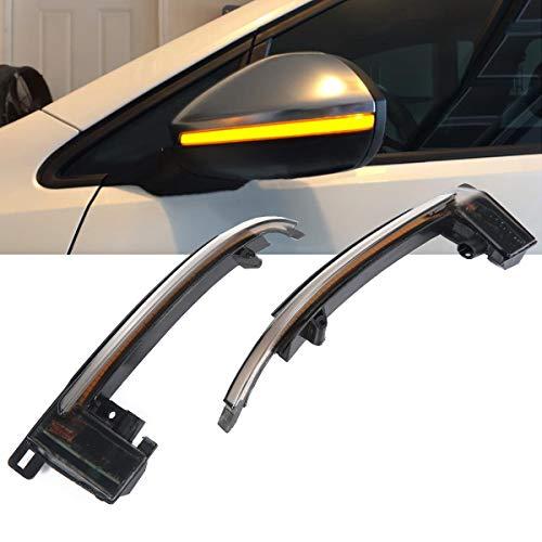 DokFin LED Indicatore retrovisore Lampeggiante Luce dinamica Disabilita Luce per Audi A3 S3 8P 2010-2012 A4 S4 B8 8K 2012-2015 A5 S5 RS5 B8