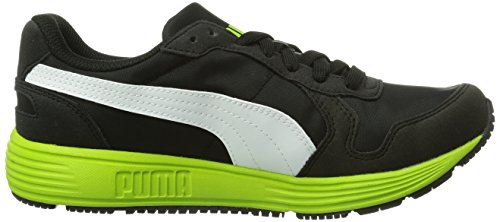 Puma Ftr St Runner Nl, Baskets mode mixte adulte Noir (Black-Lime Green-White 07)