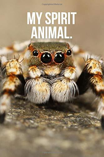 My Spirit Animal: Jumping Spider Journal