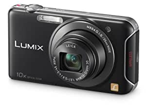 Panasonic Lumix SZ5 Compact Camera - Black (14.1MP, 10x Optical Zoom) 3 inch LCD with Wi-Fi Connectivity