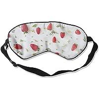 Strawberry Illustration Sleep Eyes Masks - Comfortable Sleeping Mask Eye Cover For Travelling Night Noon Nap Mediation... preisvergleich bei billige-tabletten.eu