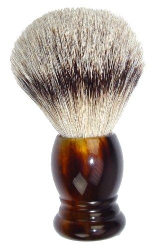 Fantasia 84016 - Pennello da barba con punte argento e