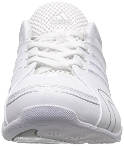 Chaussures Adidas Performance Cheer Flyer formation, blanc / argent / argent, 5,5 M Us White/Silver/Silver