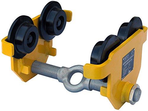 Rotek Unterflansch Laufkatzen mit bzw. ohne Fahrgetriebe, LK-Serie (1000kg ohne Fahrgetriebe) -
