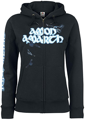 Amon Amarth Jomsviking Felpa jogging donna nero XL