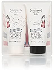 Percy & Reed TO GO! Wonder Wash and Care Duo