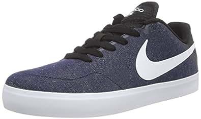 Nike  Paul Rodriguez  CTD LR Canvas, Sneakers Basses homme - Bleu - Blau (Obsidian/White-Black-Black), 45.5