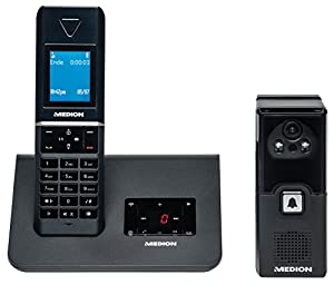 medion dect telefon mit video t rsprechanlage p63025 elektronik. Black Bedroom Furniture Sets. Home Design Ideas