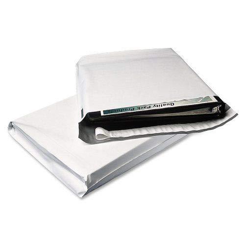 3 Mil Expansion Poly Versandtaschen, 10,2 cm Bodenfalte & 4,4 cm Lippenumschläge, 50,8 x 61 cm, 100 Stück -