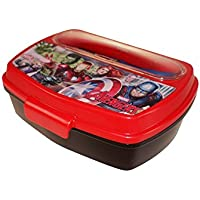 Boyz Toys ST437 Sandwich Box with Cutlery - Avengers, Multi