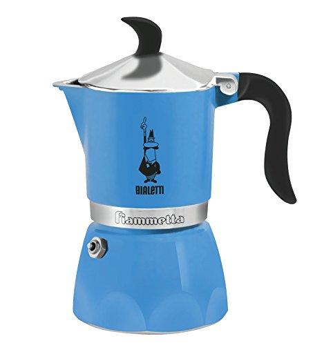 Bialetti-5722-Caffettiera-Fiammetta-3Tazze-Colore-Azzurro