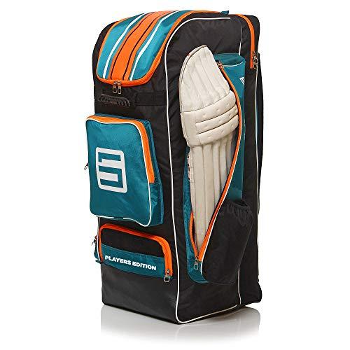 Suntop Player Edition Cricket Backpack Bag | 6 Bat Pockets...