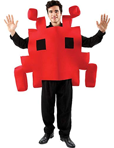 (Space Arcade Kostüm in Rot)
