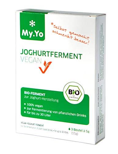Bio Joghurtferment Vegan von My.Yo, 3 Beutel