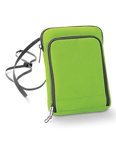 BagBase Travel Wallet Lime Green -
