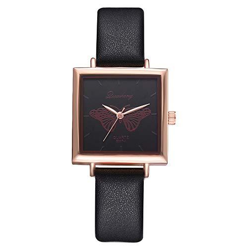 Damen Analog Quarz Armbanduhr Damen Armbanduhr Schwarz