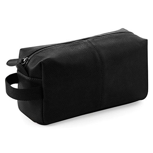 NuHide Tote Bag- Beautycase in eco-pelle Nero