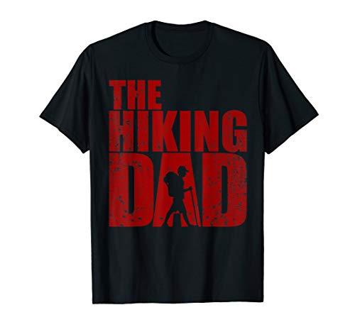 Herren Lustiges The Hiking Dad Shirt - Wandern Abenteuer Natur Papa T-Shirt