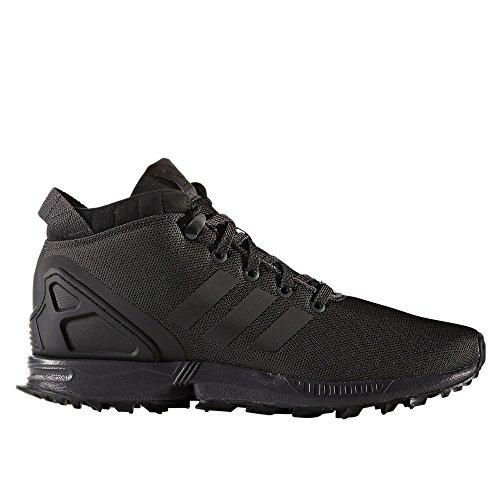 adidas Herren Schuhe/Sneaker ZX Flux 5/8 TR Schwarz, Gr. 44 EU