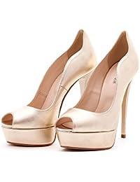 1ff5e0a59c Amazon.it: Platino - Argento / Scarpe da donna / Scarpe: Scarpe e borse