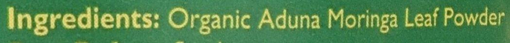 Aduna Organic Moringa Superleaf Powder 275g 3