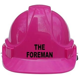Der Schnurrbart, Kinder, Kids echtem Hard Hat Helm mit Kinnriemen eine Größe verstellbar geeignet für 4–12Jahren entspricht EN397Sicherheit Standard, rosa