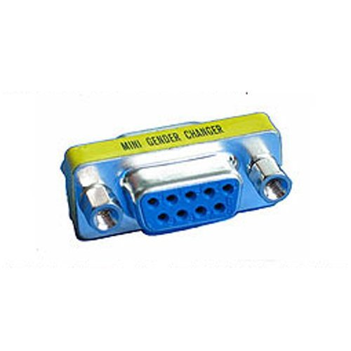 9 Pin Buchse Serie RS232 Gender Changer Adapter (Slimline Gender Changer)