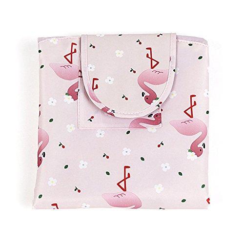 Kordelzug Flamingo Design Kosmetiktasche Reisetaschen Alles Verpackt Schminktasche Aufbewahrung Organizer für Damen Mädchen ()