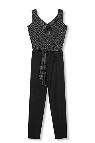 ESPRIT Collection Damen Jumpsuits 027EO1L002, Schwarz (Black 2 002), 36 (Herstellergröße: S) - 3