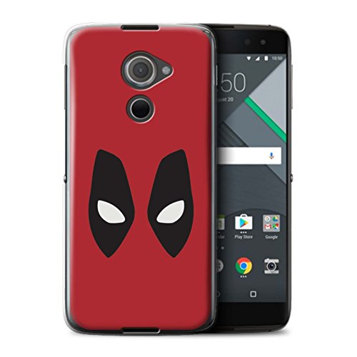 Stuff4® Hülle/Case für BlackBerry DTEK60 / Deadpool Maske Inspiriert Muster/Superheld Comic-Kunst Kollektion