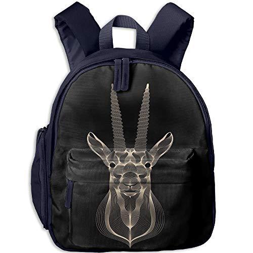 Goat Art Toddler Kids Pre School Bag Cute 3D Print Children School Backpack - Spy Kids 3d