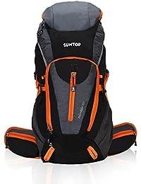 Suntop Nimble 60 Trekking Rucksack Backpack with Inbuilt Waterproof Raincover and Laptop Compartment