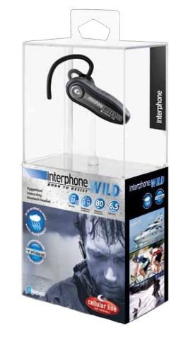 Interphone WILD Bluetooth Headset Interphone Bluetooth-headset