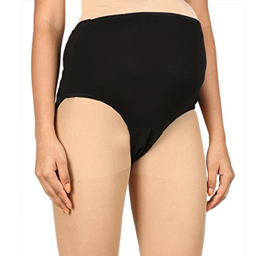 LADY CARE Maternity Panties ( Maternity_9_Black_Small)