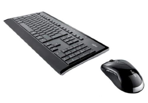 FUJITSU Wireless KB Mouse Set LX901 DE, QWERTZ KB