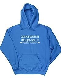 HippoWarehouse Completamente Enamorado de mi Dragón Barbudo jersey sudadera con capucha suéter derportiva unisex
