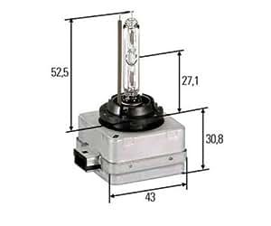 Hella 8GS 009 028-111 Ampoule, 35 W, D1S