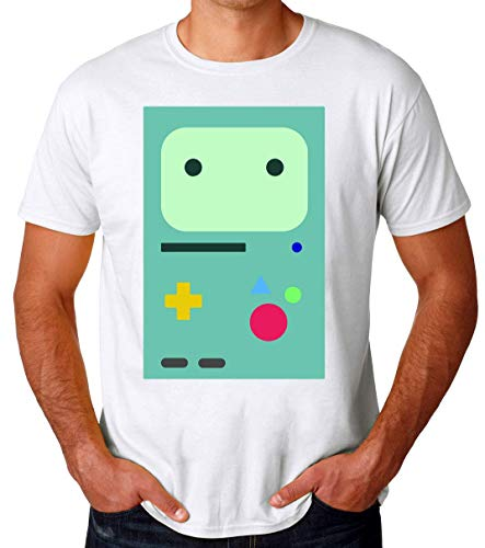 Adventure Time BMO Camiseta para Hombres Small