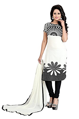 salwar suits for women unstitched Summer Best Selling New Designed Fancy Printed Dress Material Party Wear salwar Suit Multi Color (Jugni Flower_Dress)  available at amazon for Rs.199