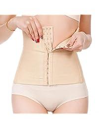 AQWWHY Mujeres de Cintura Alta Cincher Butt Lifter Control de la Barriga Shapewear Trainer Bragas 2pcs