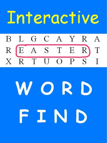Interactive Word Find: Easter (word Find For Kindle) por A Chastney