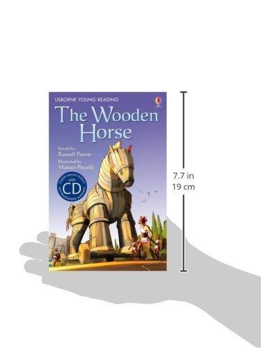 The Wooden Horse. Book + CD: Usborne English-Upper Intermediate (English Learner's Editions 4: Upper Intermediate)