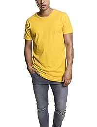 Urban Classics TB638 Herren T-Shirt Shaped Long Tee mit Rundhals