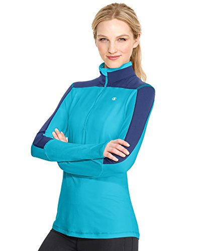 Champion Women's PerforMax Quarter Zip Top (Champion Zip Womens Quarter)